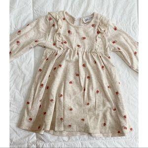 Zara Baby || Knitted Dress with Ruffles